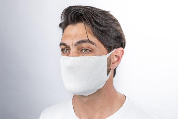 mascherina filtrante bianco